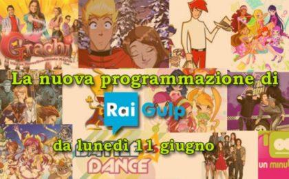 Rai Gulp rinnova il palinsesto: da domani nuovi appuntamenti con cartoon e serie tv