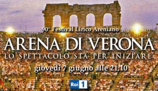 Programmi tv stasera, oggi 7 giugno 2012: Arena di Verona, Private Practice