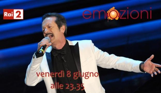 Rai Due: al via con Rocco Papaleo le nuove Emozioni di Simona Ercolani