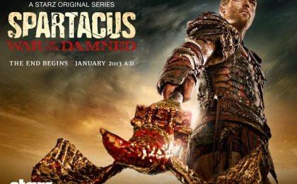 Spartacus, la terza stagione si chiamerà War of the Damned e sarà l'ultima [FOTO+VIDEO]
