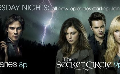 Mya, da stasera The Vampire Diaries 3 e The Secret Circle