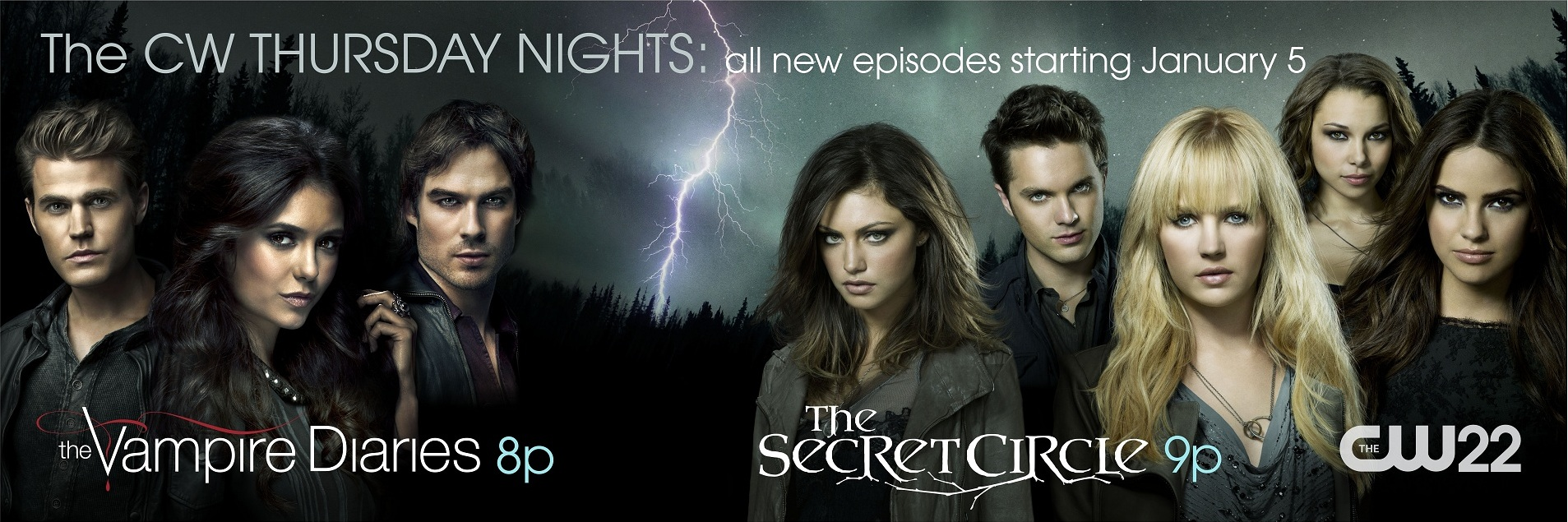 Mya, da stasera The Vampire Diaries 3 e The Secret Circle