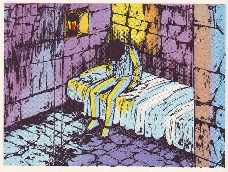 Abel in prigionia