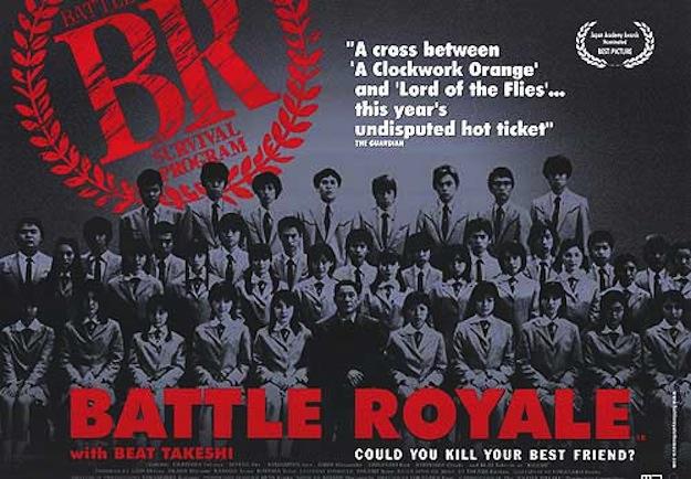 Battle Royale, il poster