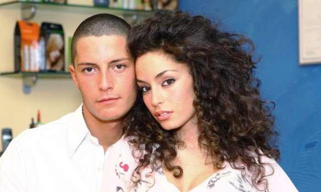 Francesco Fico e Raffaella Fico in foto