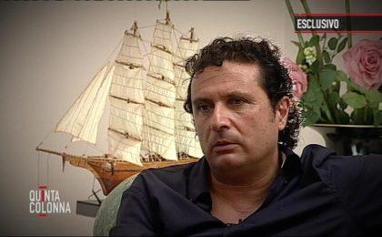 Quinta Colonna, Salvo Sottile intervista Francesco Schettino e nega il ricco cachet