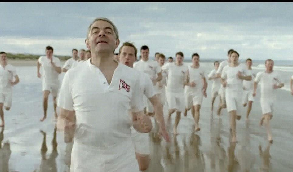 Rowan Atkinson ha il suo momento di gloria