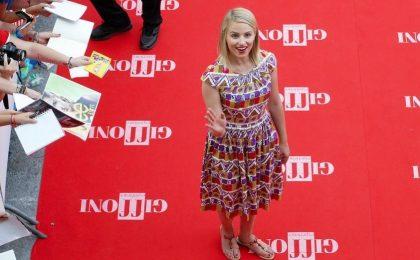 Glee 4, Dianna Agron ha stregato Giffoni: 'Mi ispiro alla Loren. Quinn è una parte di me'