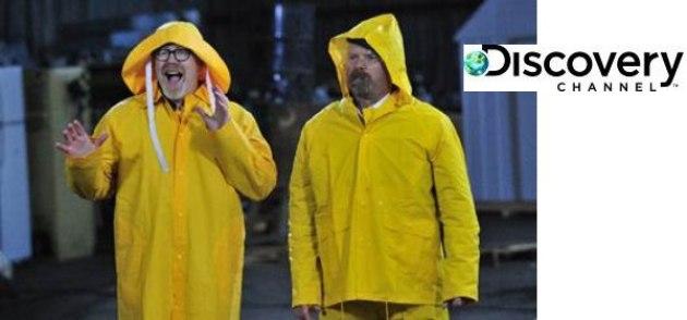 Reazione a catena: su Discovery Channel tornano i mythbusters Adam Savage e Jamie Hyneman