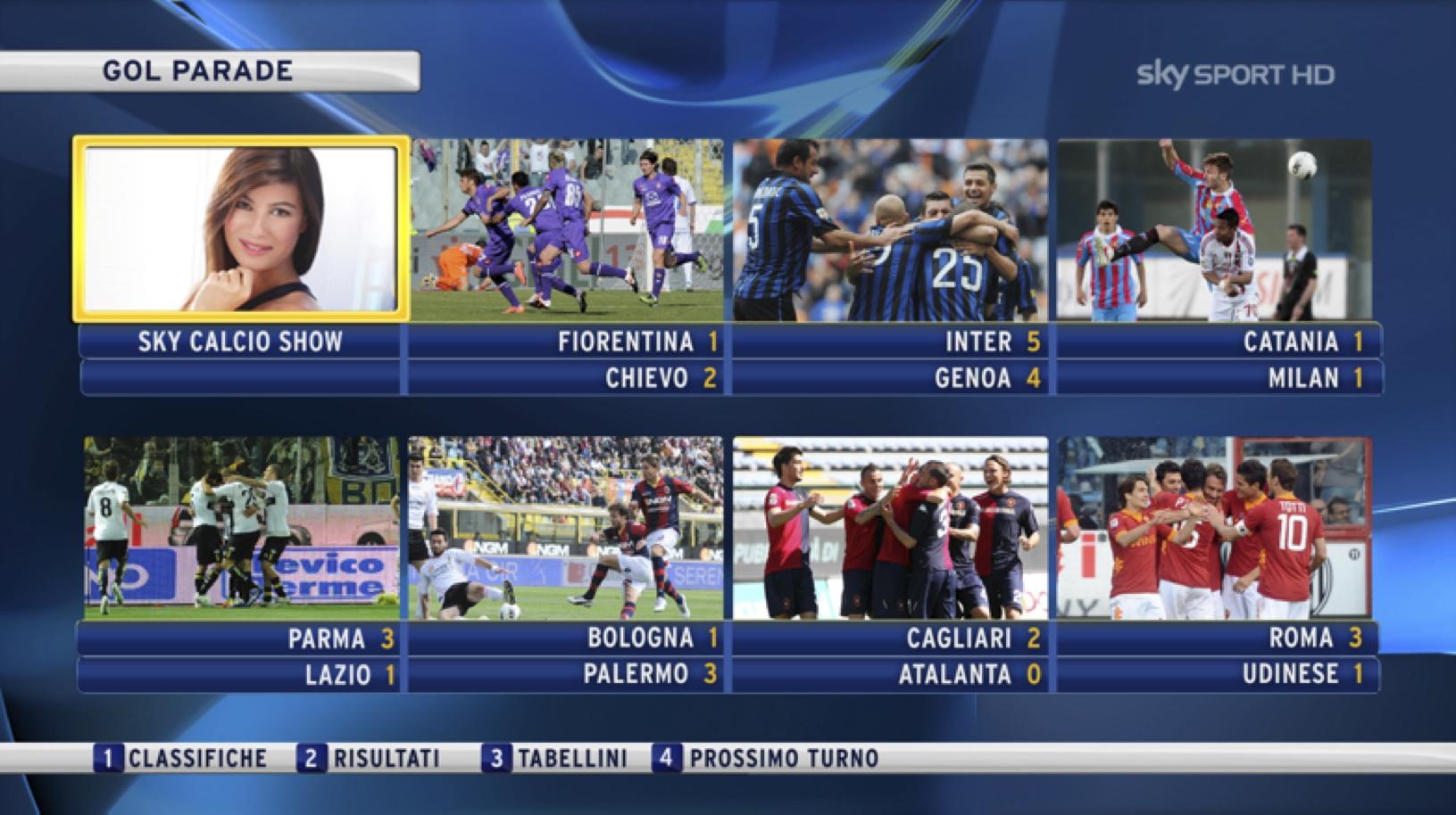 Sky Sport presenta il palinsesto 2012-2013: un anno di sport e 1500 match in HD