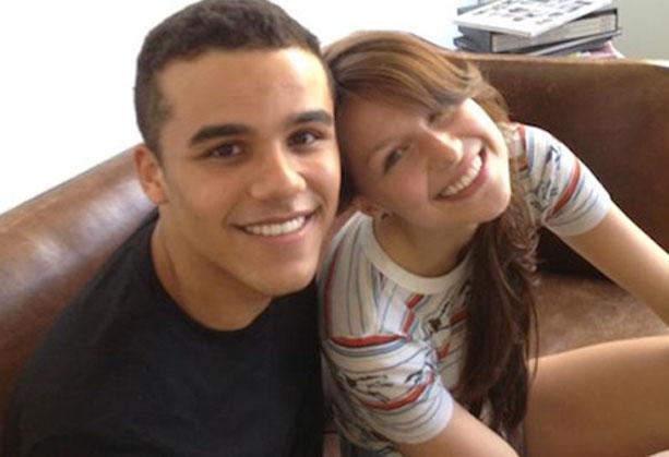 Jacob Artist e Melissa Benoist di Glee