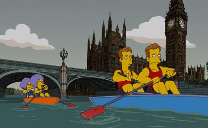 I Simpson diventano olimpici, la serie TV Fox sbarca a Londra 2012 [VIDEO]