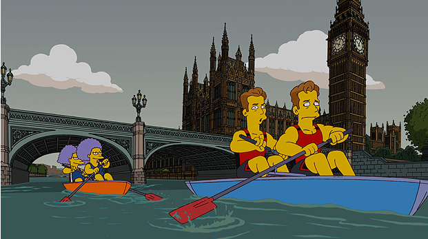 I Simpson diventano olimpici, la serie TV Fox sbarca a Londra 2012 [VIDEO]