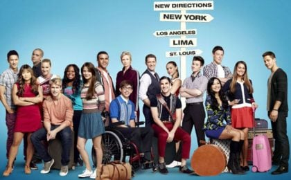 Glee 4: poster promozionale senza Dianna Agron, panico tra i fan [SPOILER]