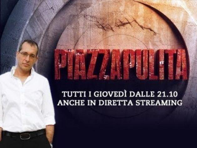 Piazzapulita torna su La7: Corrado Formigli riparte sui Carboni Ardenti