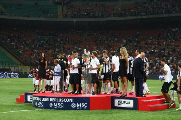 Ascolti tv domenica 19 agosto 2012: trionfa il Trofeo Berlusconi e la vittoria della Juve