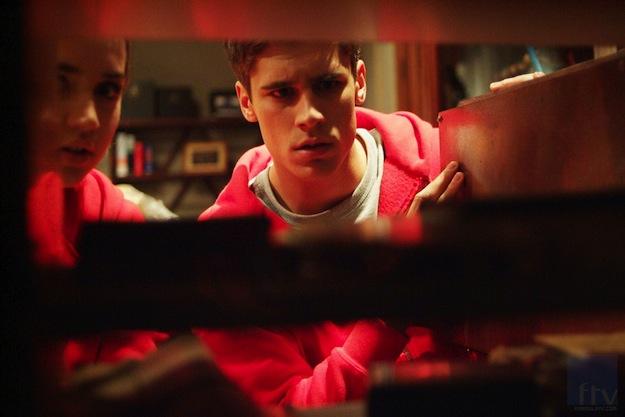 El Internado, una foto del nono episodio