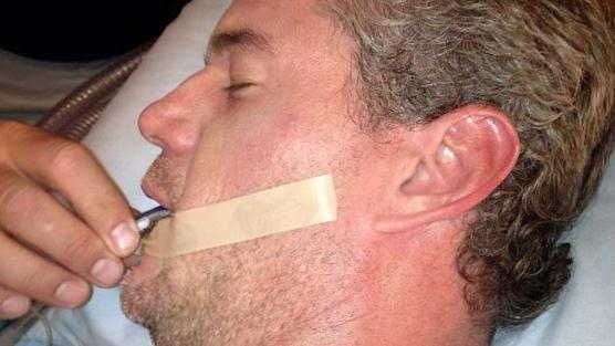 Eric Dane nella foto scatta da Patrick Dempsey