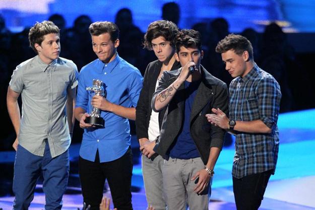 MTV Video Music Awards 2012: trionfo degli One Direction, a secco Justin Bieber