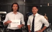 Supernatural: Jensen Ackles prende un pugno in faccia da Jared Padalecki [VIDEO]