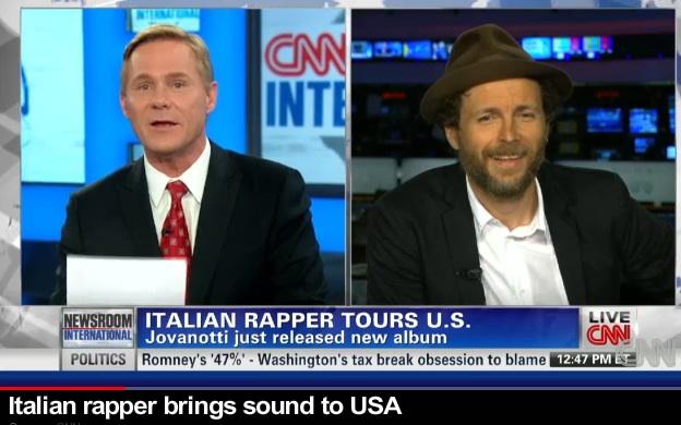 La CNN ospita Jovanotti, il rapper italiano corregge il giornalista [VIDEO]
