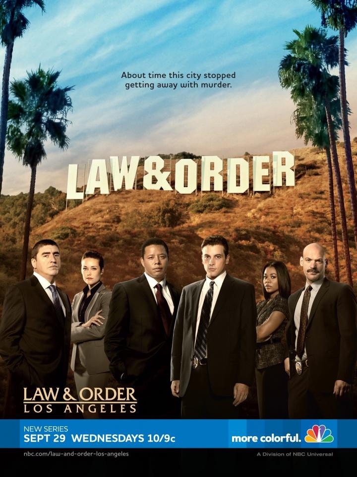 La locandina di Law Order Los Angeles