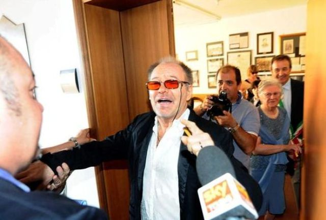 Vasco Rossi tra i giornalisti