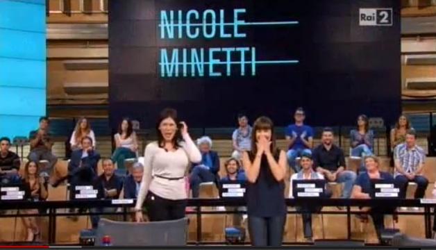 Quelli che, Virginia Raffaele imita Nicole Minetti nell'esordio dello show [VIDEO]