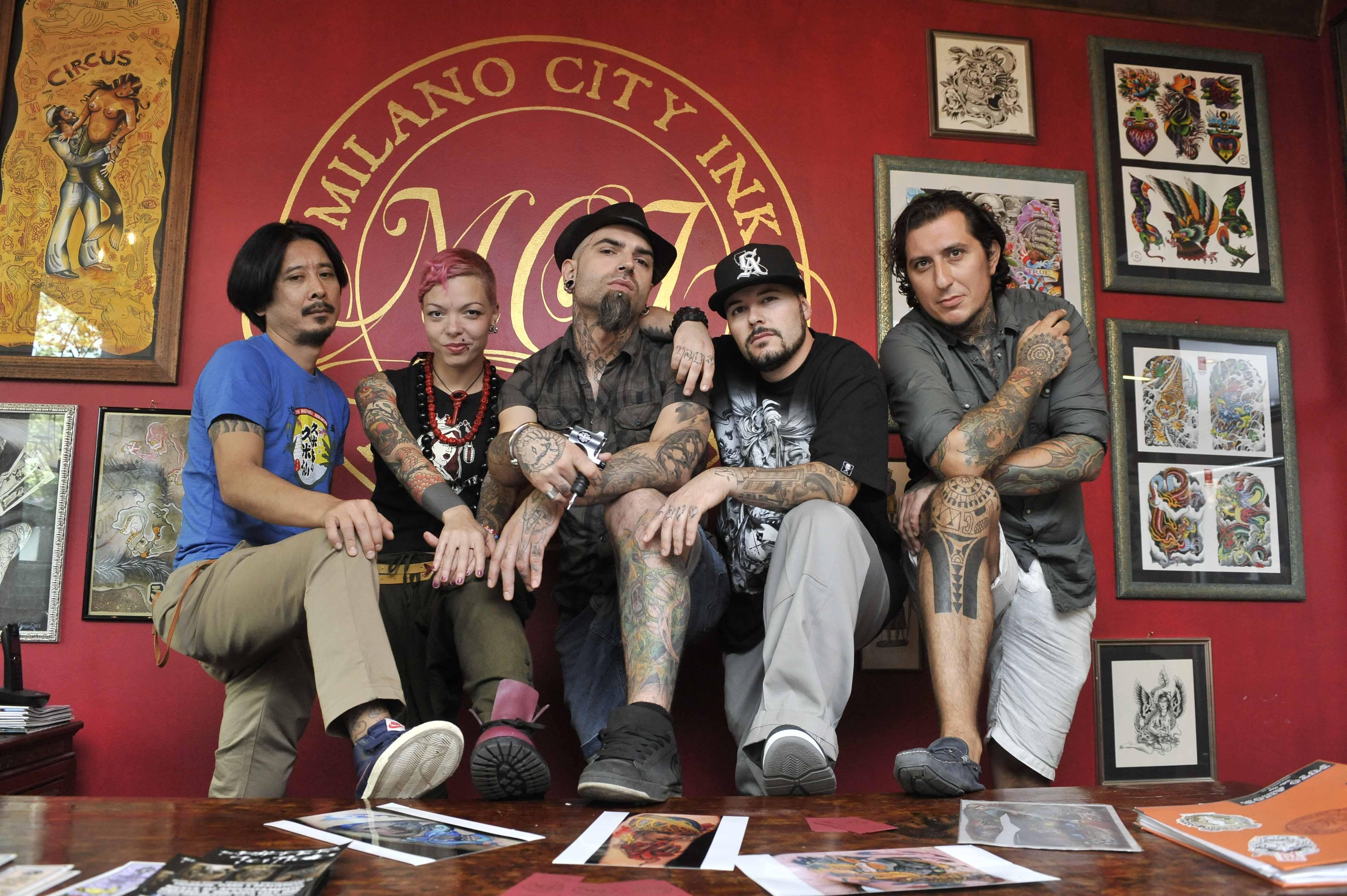 Milano City Tattoo: su DMAX la prima produzione italiana dedicata al mondo dei tatuaggi