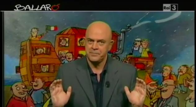 Crozza-Formigoni a Ballarò del 9/10/2012: il Pirellone è stregato! [VIDEO]