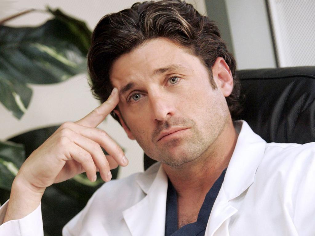 Persino Patrick Dempsey non è choosy: 'Resto a Grey's Anatomy perché non c'è lavoro'