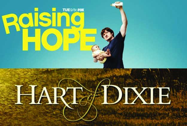 Debutti serie tv 2012 di oggi: Raising Hope 3 e Hart of Dixie 2