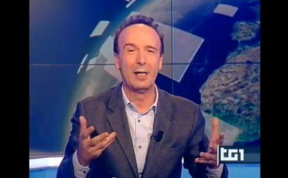 Roberto Benigni su Rai 1 con La più bella del mondo, show sulla Costituzione