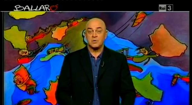 Crozza a Ballarò del 16/10/2012: dopo l'homo electus arriva l'homo 'ndranghetal [VIDEO]