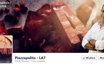 Social Tv: boom su Facebook per Piazzapulita, La prova del cuoco, Ballarò e The Apprentice