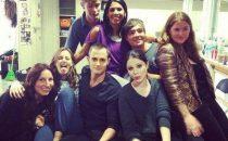 Gossip Girl 6: foto del cast dal set dell'ultimo giorno di riprese