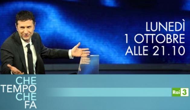 Programmi tv stasera, oggi 1 ottobre 2012: Che Tempo Che Fa, Il Caso Enzo Tortora