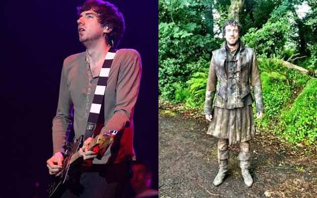 Gary Lightbody degli Snow Patrol in Game of Thrones 3