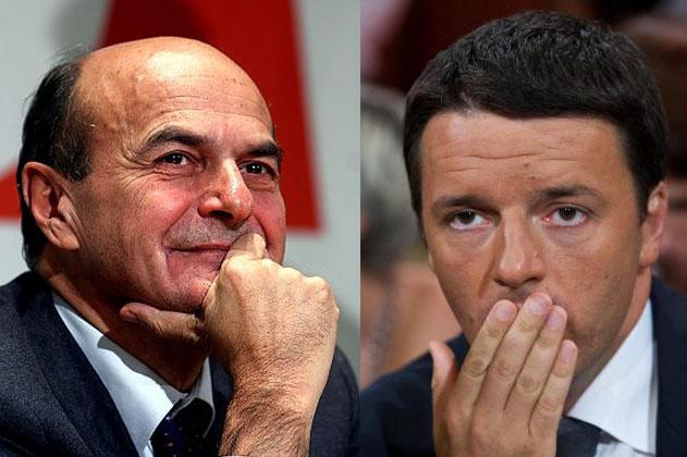 Renzi e Bersani portano il ballottaggio delle primarie in TV