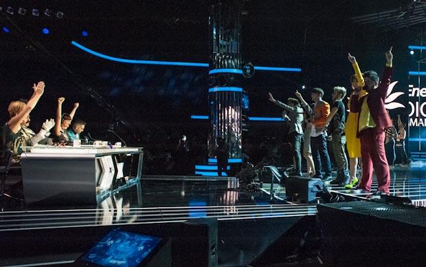 X Factor 2012: Kylie Minogue ospite con Eros Ramazzotti, la finale in due serate
