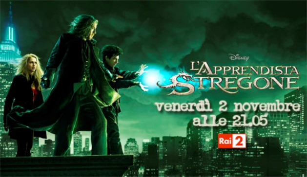 Programmi tv stasera, oggi 2 novembre 2012: I Cesaroni 5, L'apprendista stregone