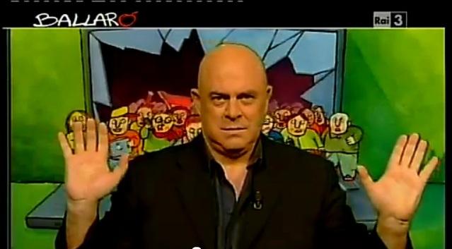 Crozza a Ballarò del 6/11/2012: mi accusano di killeraggio ma sono solo un comico [VIDEO]