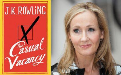 Il seggio vacante: una serie tv BBC dall'ultimo romanzo di J.K. Rowling