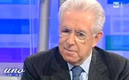 Mario Monti ospite a Unomattina: 'Mio nipote lo chiamano spread all'asilo' [VIDEO]