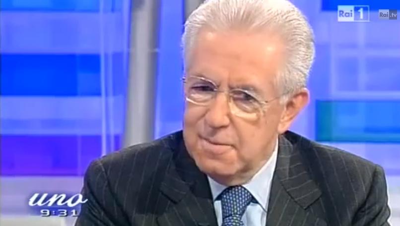 Mario Monti ospite a Unomattina: 'Mio nipote lo chiamano spread all'asilo' [VIDEO]