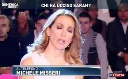 Michele Misseri telefona a Domenica Live: 'Ho ucciso Sarah, dite solo bugie!'