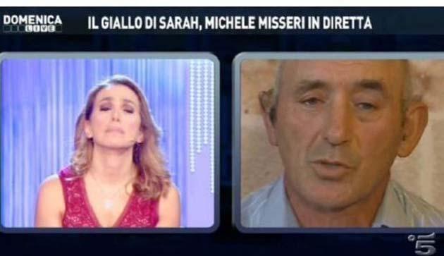 Domenica Live: Michele Misseri e Silvio Berlusconi ospiti della D'Urso