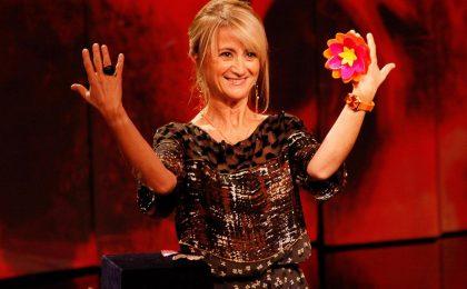 Sanremo 2013, Luciana Littizzetto placa le polemiche sull'intervento di Che tempo che fa