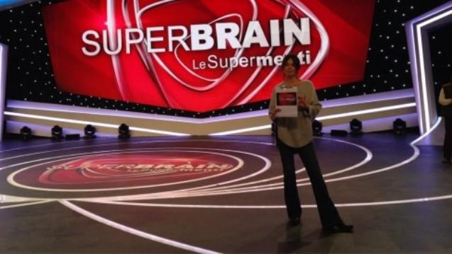 SuperBrain con Paola Perego su Rai Uno il 29 dicembre 2012 e il 5 gennaio 2013