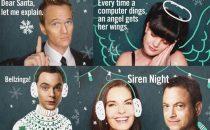 Natale 2012 nelle serie tv: le cartoline di auguri della CBS